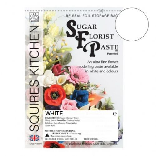 Sugar Florist Paste - White 1KG